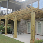 Custom Covered Patio Greenville SC Nexgen Contractors