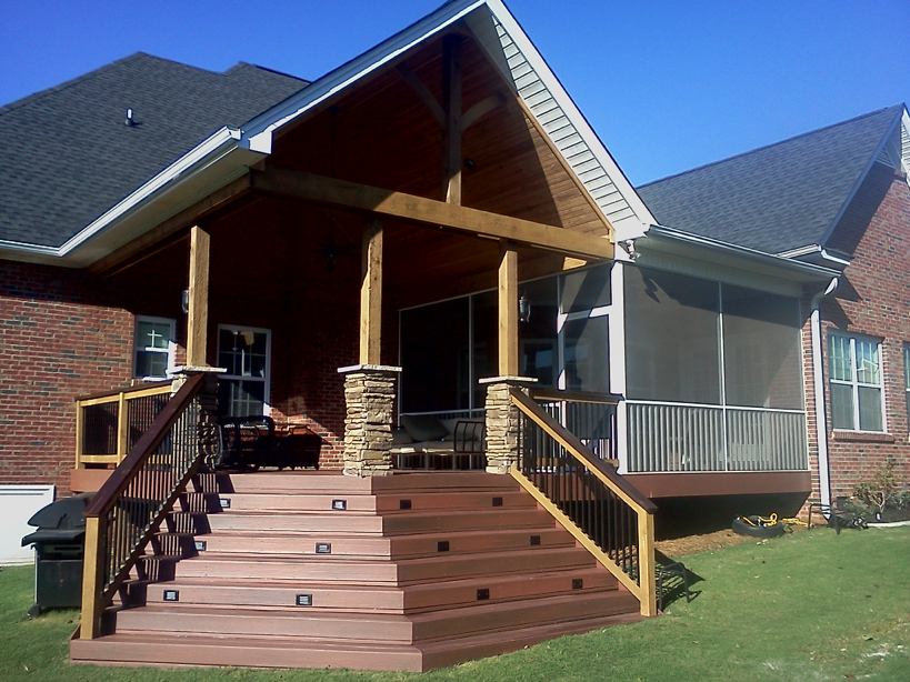 Covered Porch Patio Greenville SC Nexgen Contractors