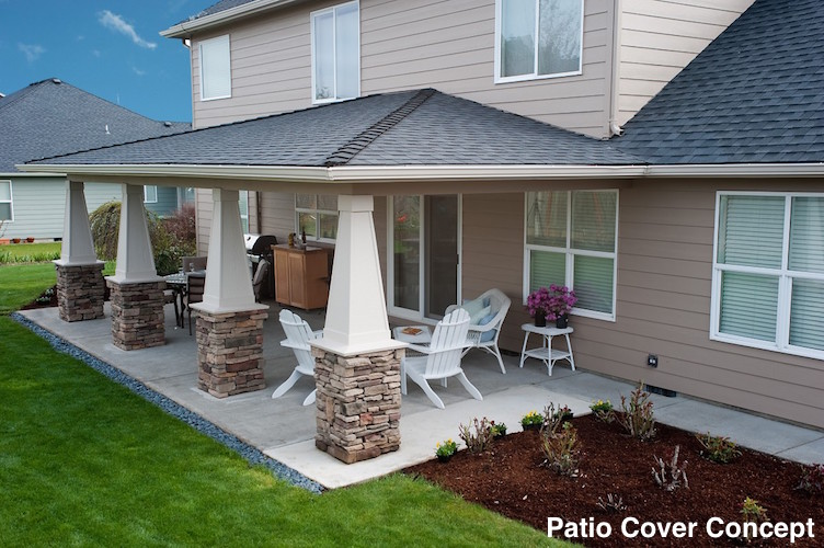 Nexgen contractors llc pergolas covered patios for Creative home designs llc