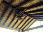 Exposed Beam Ceiling, Greenville SC